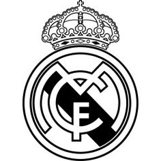 236x236 Real Madrid Logo Coloring Page Pasteles Real Madrid