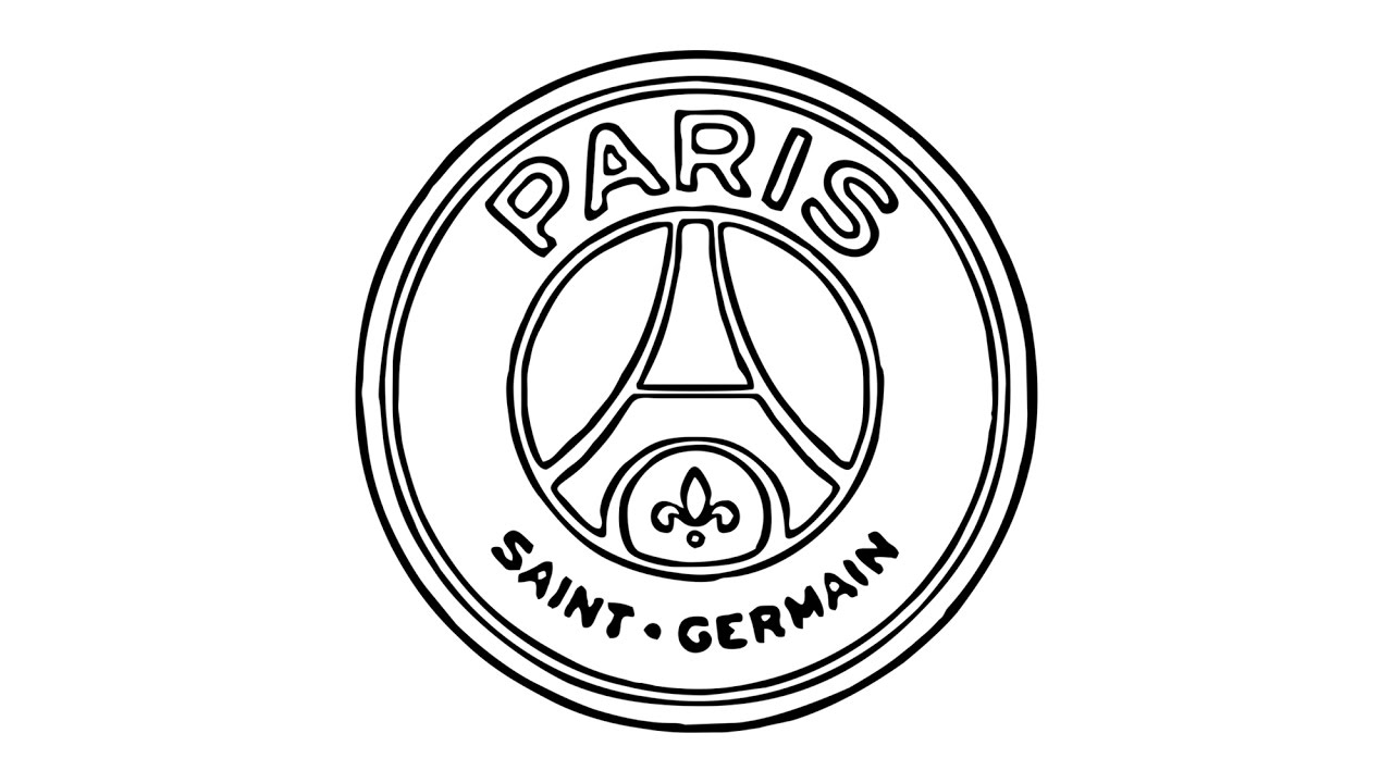 1280x720 Comment Dessiner Le Logo Psg (Paris Saint Germain)
