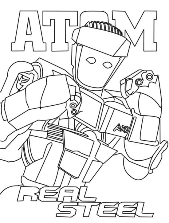 550x726 Steel Atom Real Steel Zeus Noisy Boy Original Camron's Birthday