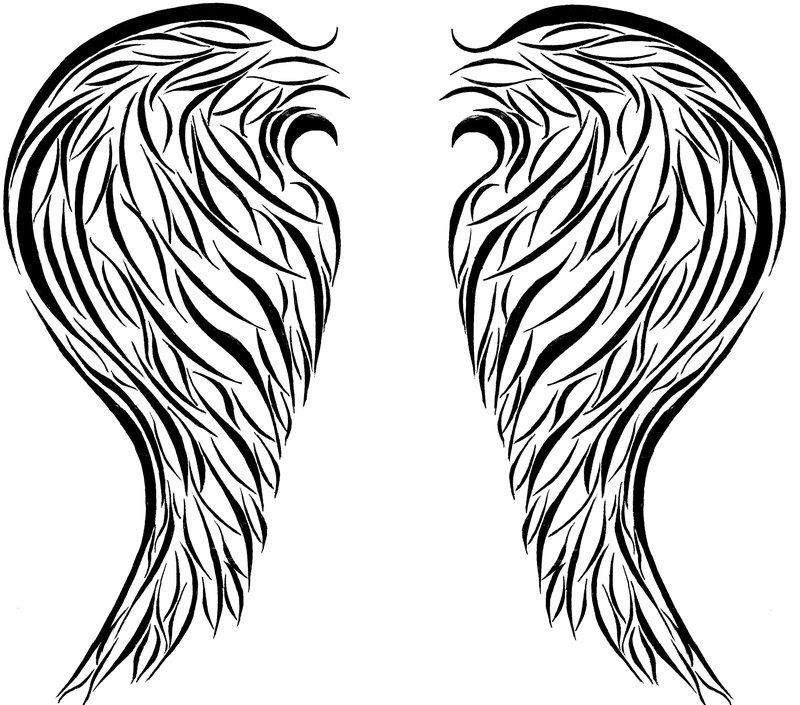 800x705 Angel Wings Tattoo By Champagnetears33