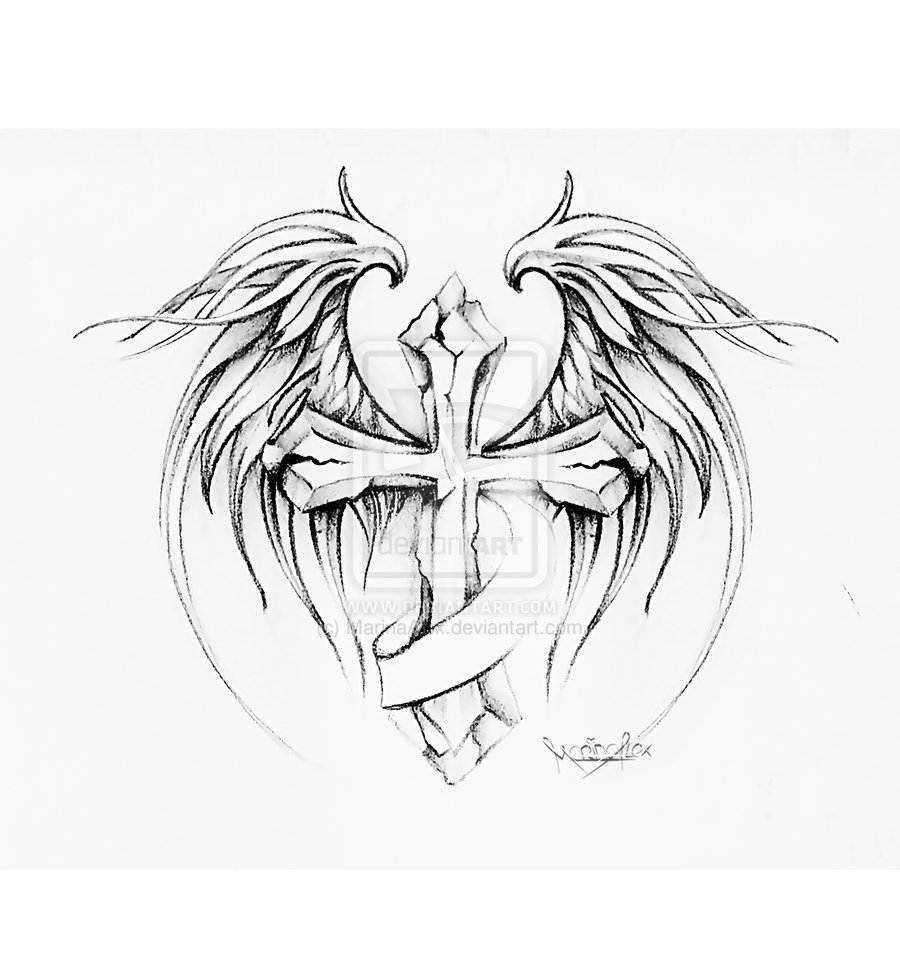 900x959 Pencil Drawings Of Hearts With Wings And Banners Collection