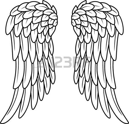 450x430 28,171 Angel Wing Stock Vector Illustration And Royalty Free Angel