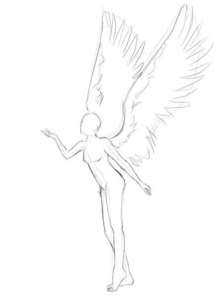 450x600 Drawing An Angel