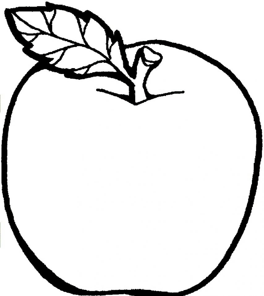 854x956 Cool Apple Coloring Pages Apple Color Sheets Apple Color Sheets