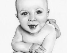 236x187 Custom Portrait Pencil Drawing From Your Photo, Portrait Sketch