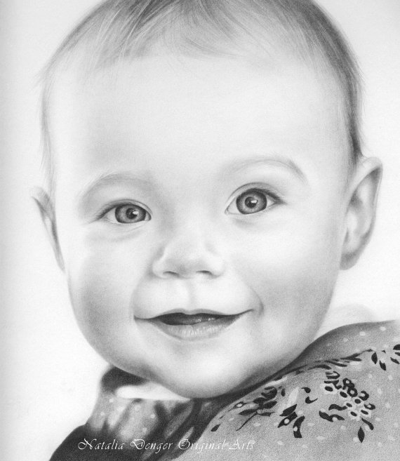 realistic baby drawing at getdrawings com free for personal use