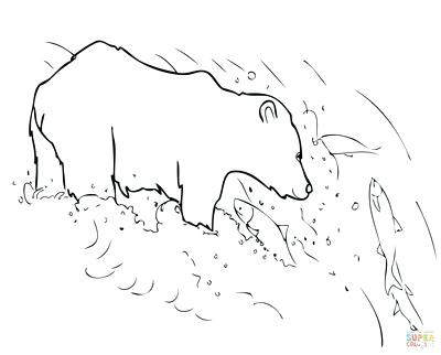 400x322 Grizzly Bear Coloring Pages And Bear Coloring Pages Free Printable