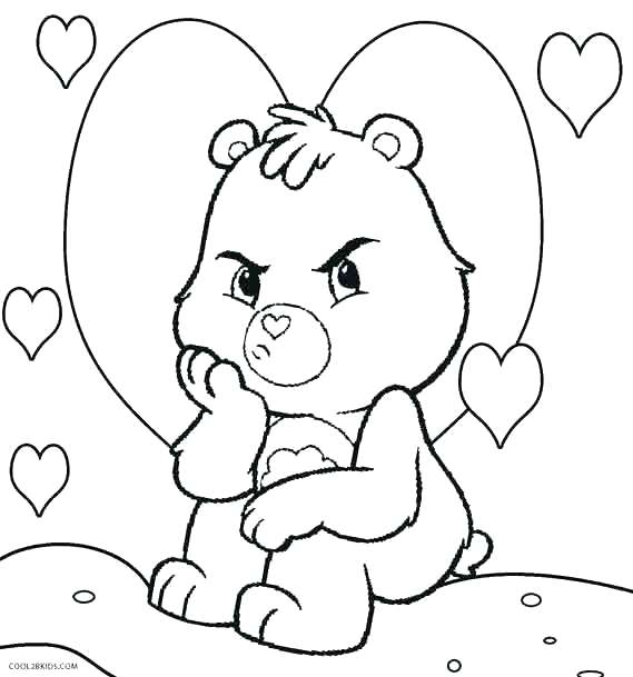 569x609 Sweet Inspiration Bear Face Coloring Page Pages Realistic Brown