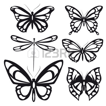 450x450 166,549 Butterfly Cliparts, Stock Vector And Royalty Free