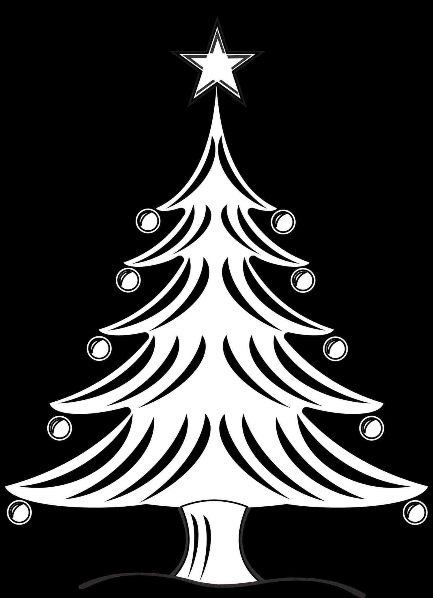 1501x2074 New Post Gothic Christmas Tree Drawing Xmast Santa