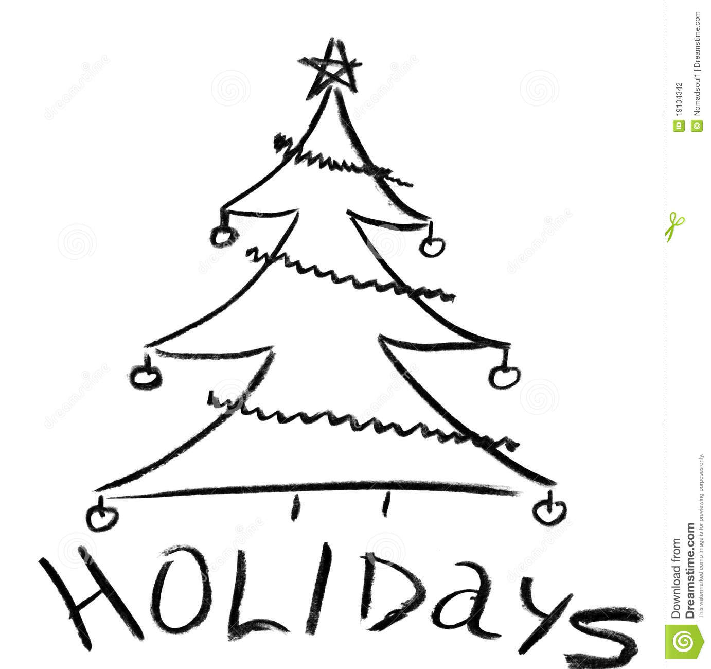 1382x1300 Pencil Drawing Of Christmas Tree How To Draw A Realistic Christmas