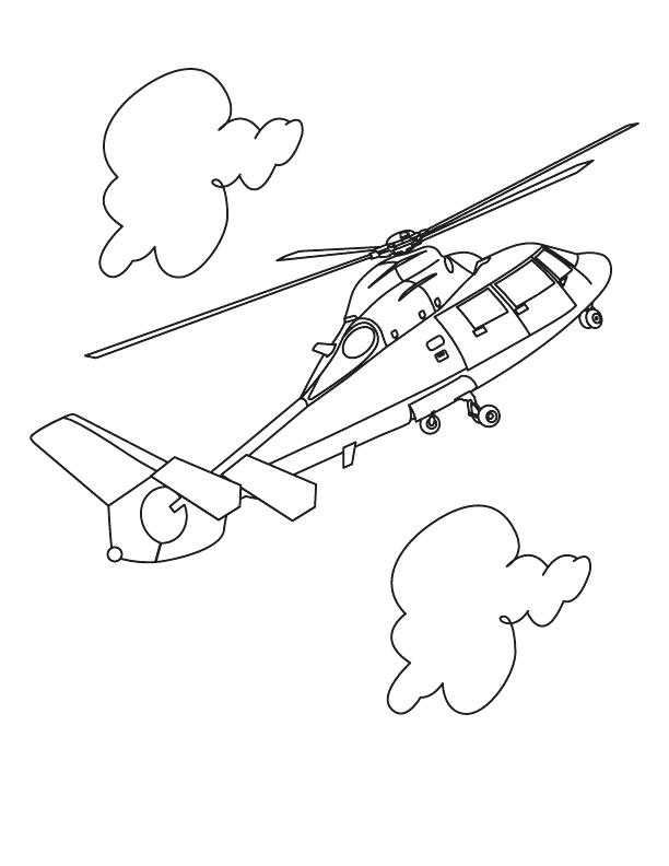 612x792 Helicopter Coloring Page Military Helicopter Coloring Pages