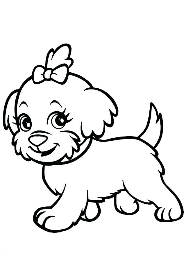 640x881 Dogs Coloring Pages Draw Dog And Cat Coloring Pages For Gallery