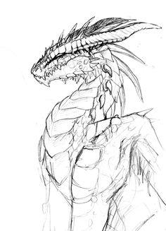 236x327 Dragon Drawing By Turtlegirl5 On Art Ideas