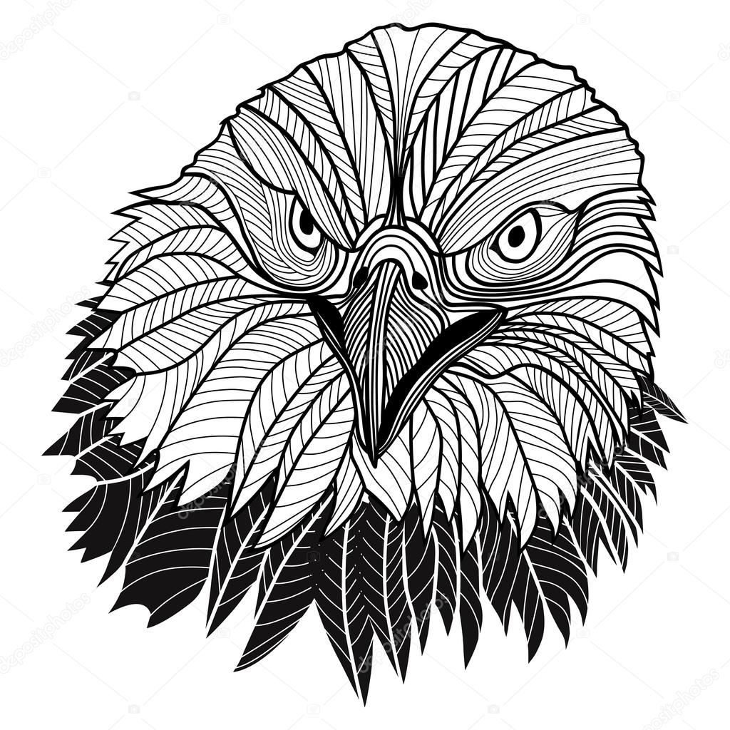 1024x1024 Bald Eagle Heads Usa Symbol For Mascot Or Emblem Design, Such