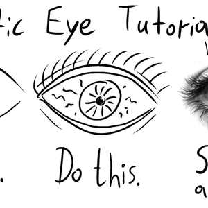 300x300 How To Draw A Perfectly Realistic Eye In Three Steps By Recyclebin