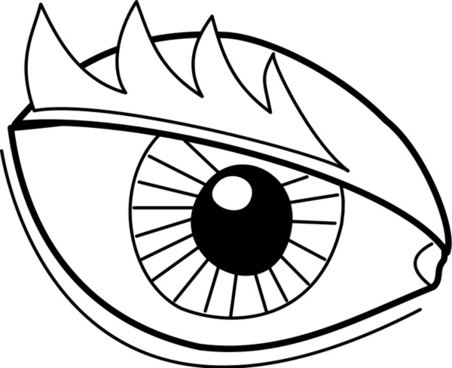 452x368 Vector Realistic Eye Free Vector Download (1,805 Free Vector)