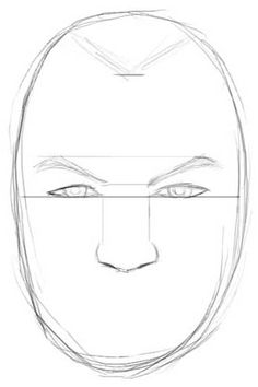 236x354 How To Draw Realistic Faces (Male) Home School And Education