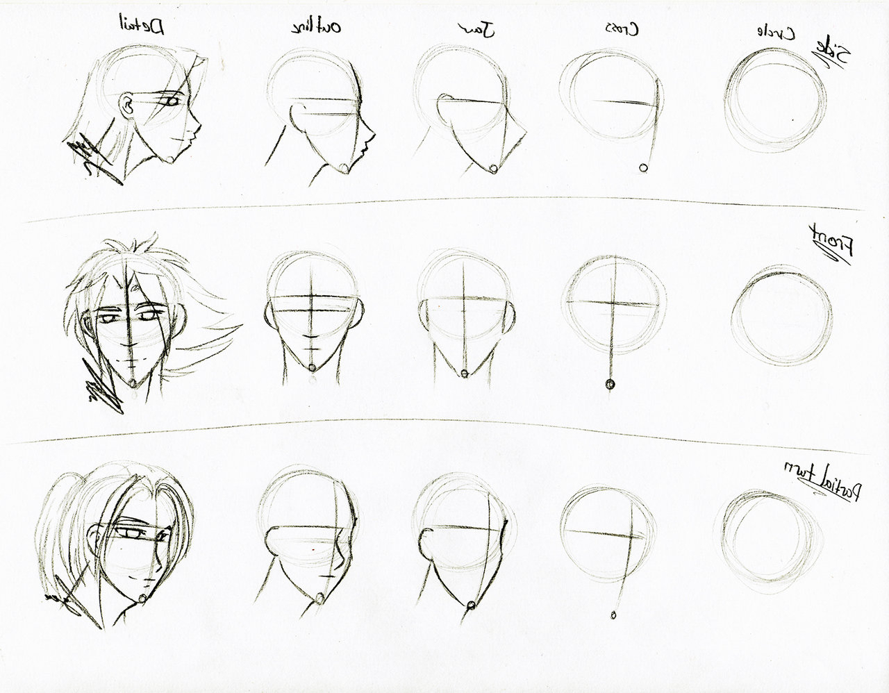 1280x998 Realistic Face Sketch Step By Step Archives