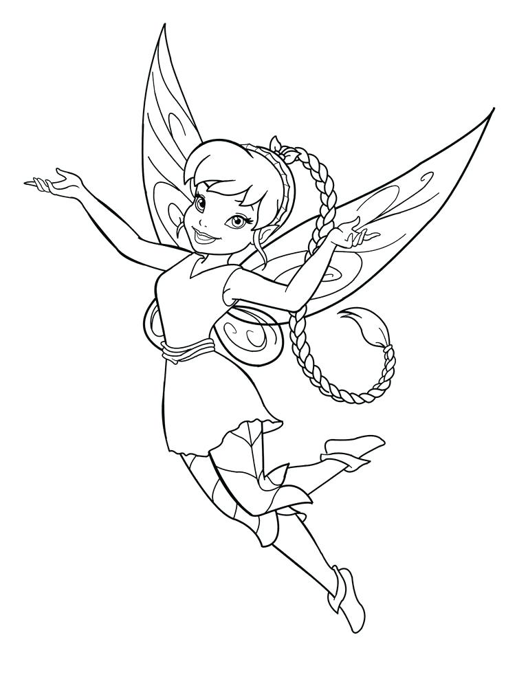 736x988 Fairy Coloring Pages Fairy Coloring Page Realistic Fairy Coloring