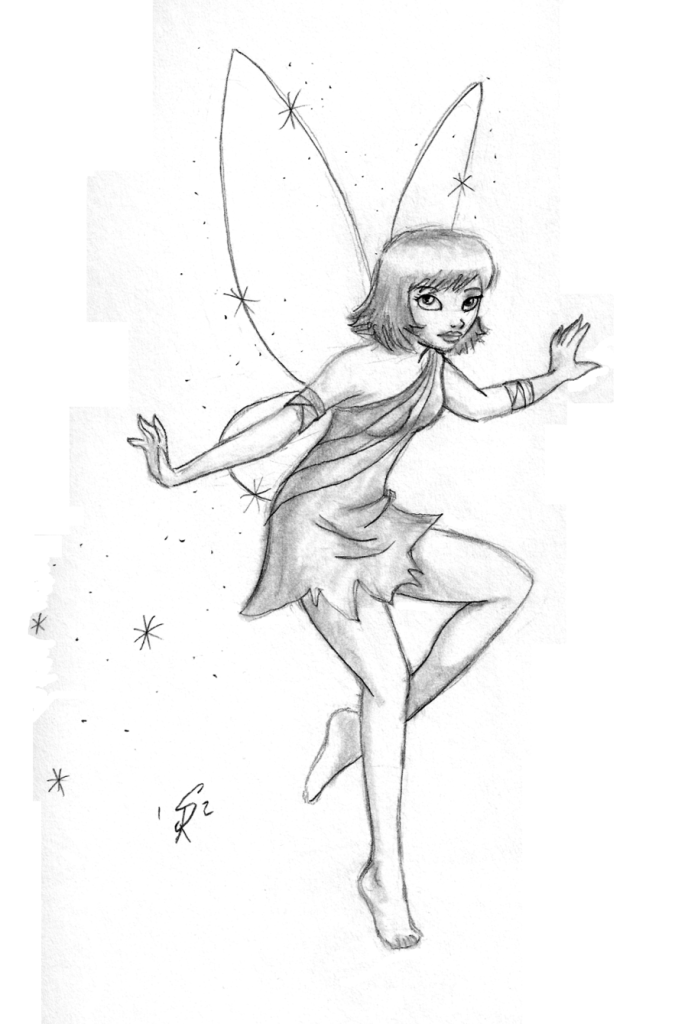 688x1024 Fairy Drawings Flying Pencil Drawings Of Fairies