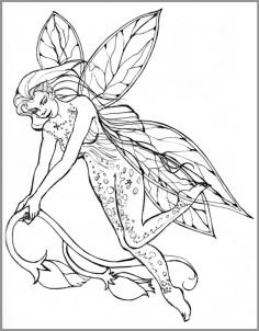 236x302 How To Draw Realistic Fairies, Draw A Realistic Fairy Step 8