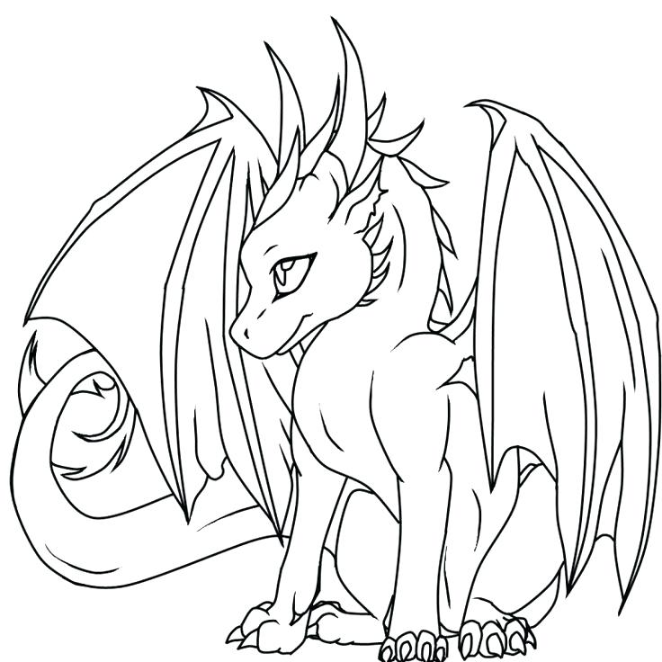 736x736 Realistic Dragon Coloring Pages As Realistic Fire Breathing Dragon