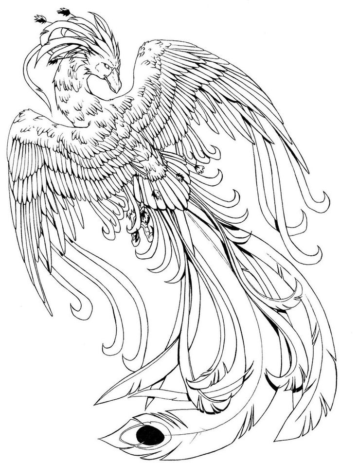 Realistic Water Dragon Coloring Pages