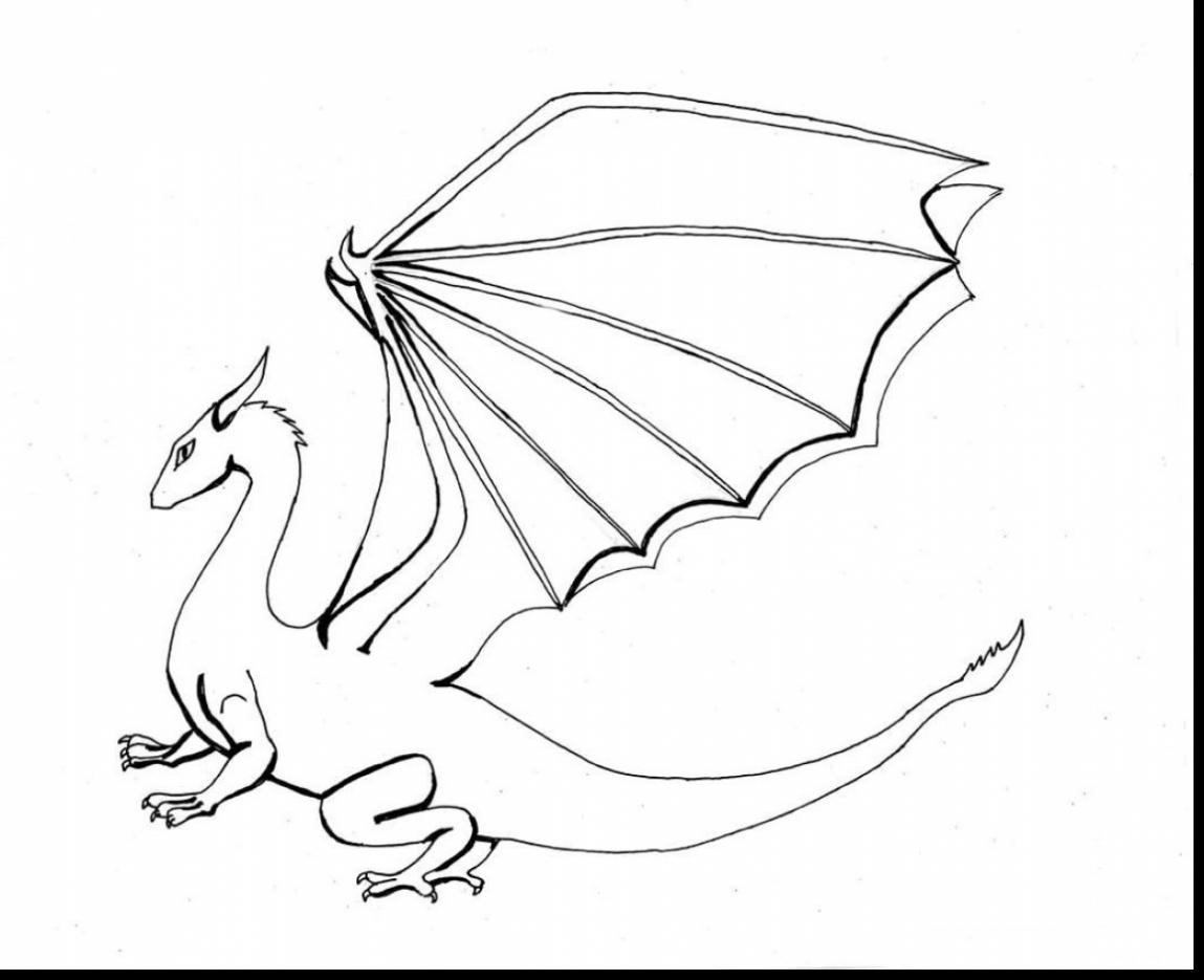 1149x935 Coloring Pages Nice Coloring Pages Draw A Simple Dragon Fire