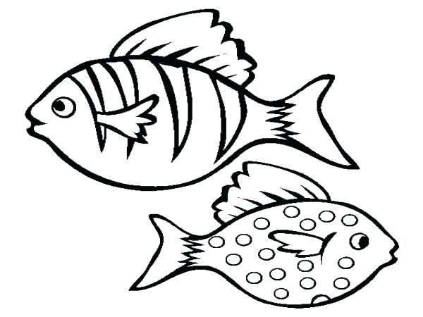 600x450 Coloring Pages Of Fish Fish Coloring Page Coloring Pages Fish Tank