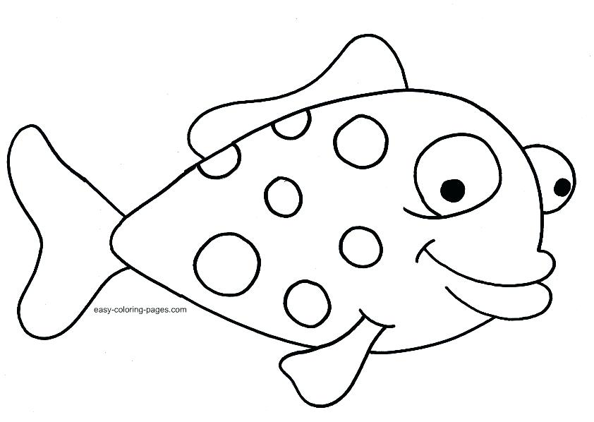 842x598 Fish Color Pages 32 Packed With Free Coloring Pages Of Realistic