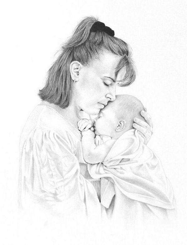 600x788 Free Amazing Images 36 Amazing And Realistic Pencil Drawings