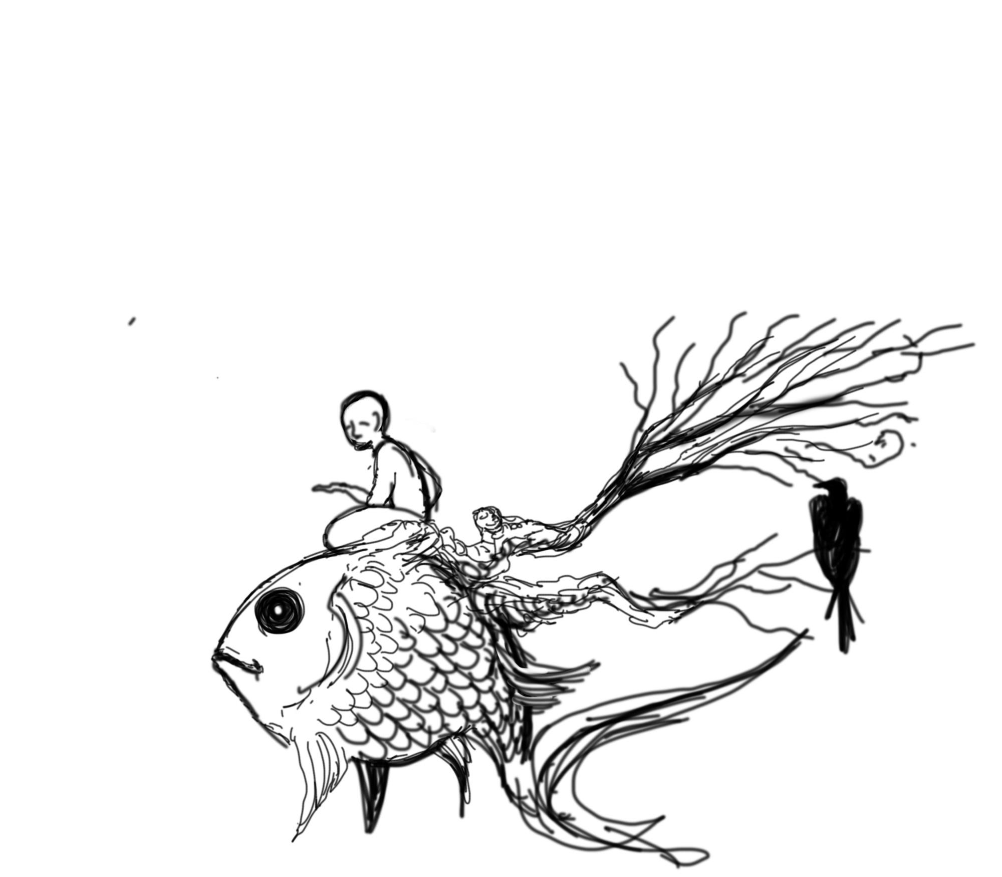 2000x1750 I Am A Surrealist And Fantastic Realist Artist, Ama And I'Ll Draw