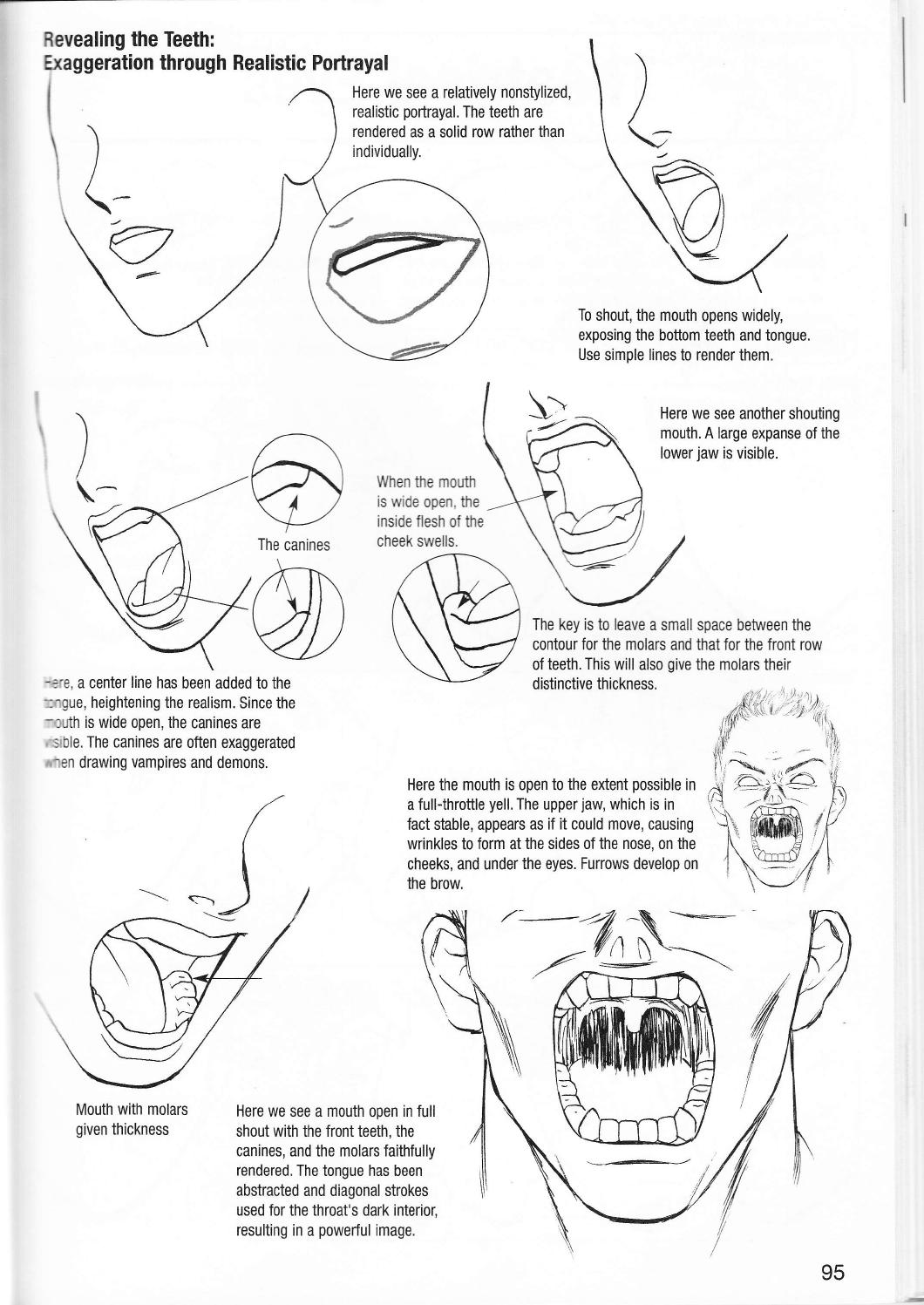 1060x1497 More How To Draw Manga Vol 2 Penning Characters By Dayla Assuky