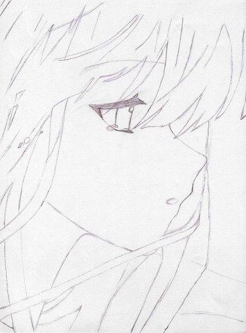 355x480 Sad Anime Girl By Sunshine Flower