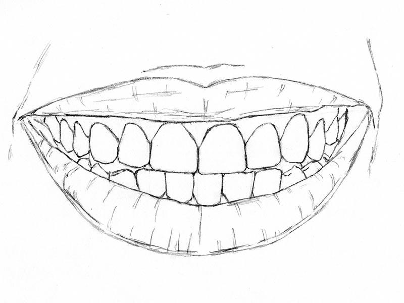 800x600 How To Draw Teeth Shadow Box Teething, Draw