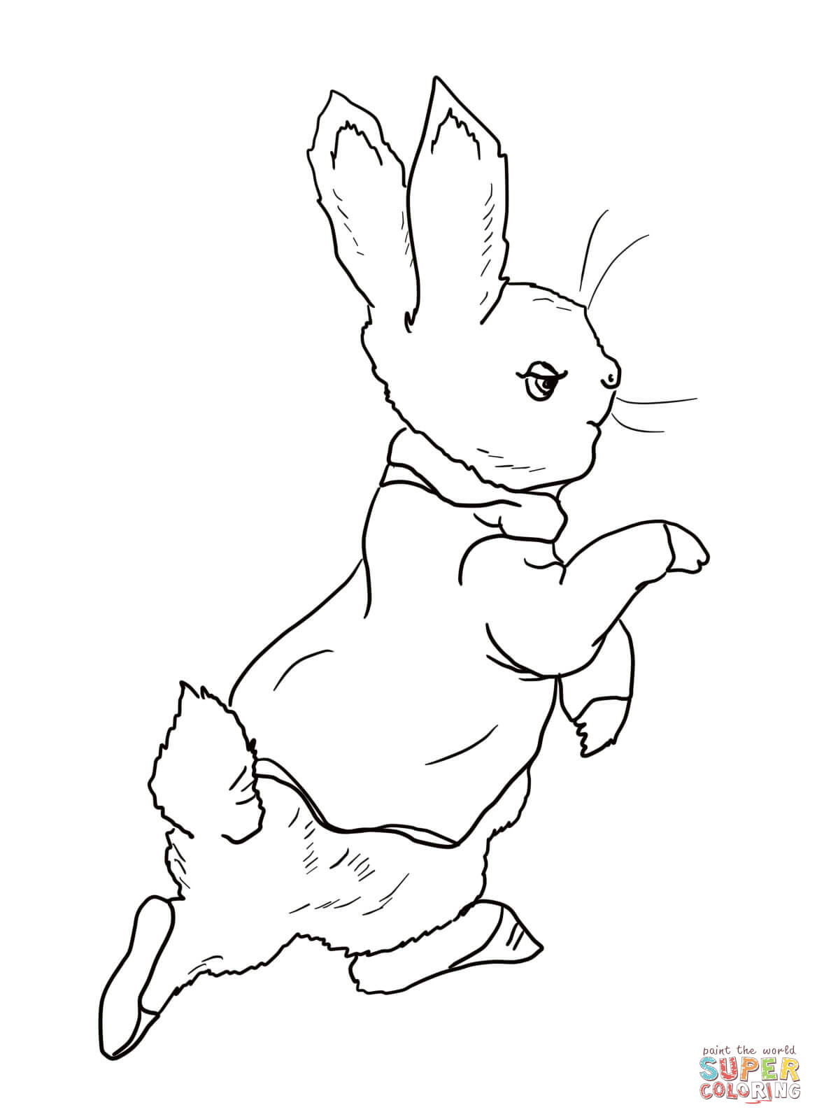 1168x1600 Bunny Pictures To Print Disney Coloring Pages Kids Coloring. Peter