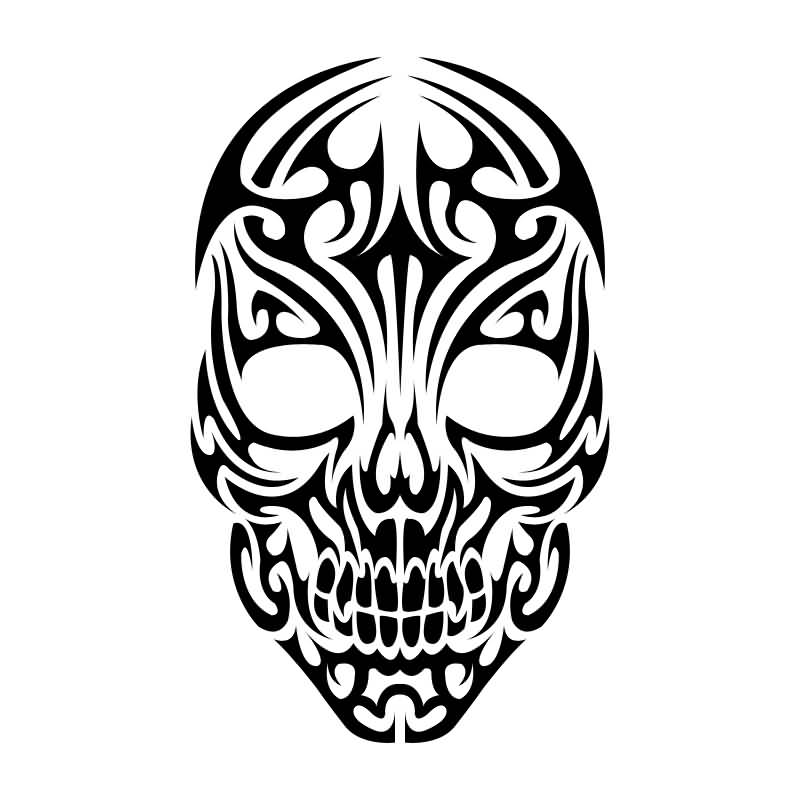 realistic skull drawing at getdrawings com free for bone clip art to write in bones clipart free
