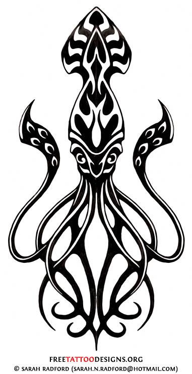 381x740 kraken tumblr sketch
