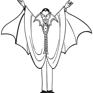 300x300 Realistic Picture Of Vampire Couple Coloring Page Realistic