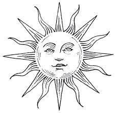 227x222 Sun Drawing Tattoo Moon Design Ink Tattoo Moon