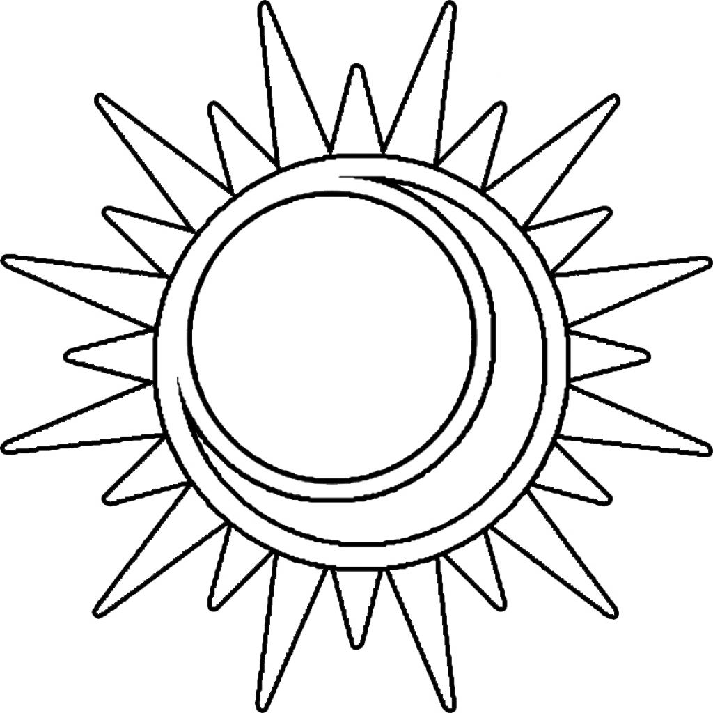 1024x1024 Cool Sun Drawings Cool Sun And Moon Drawings