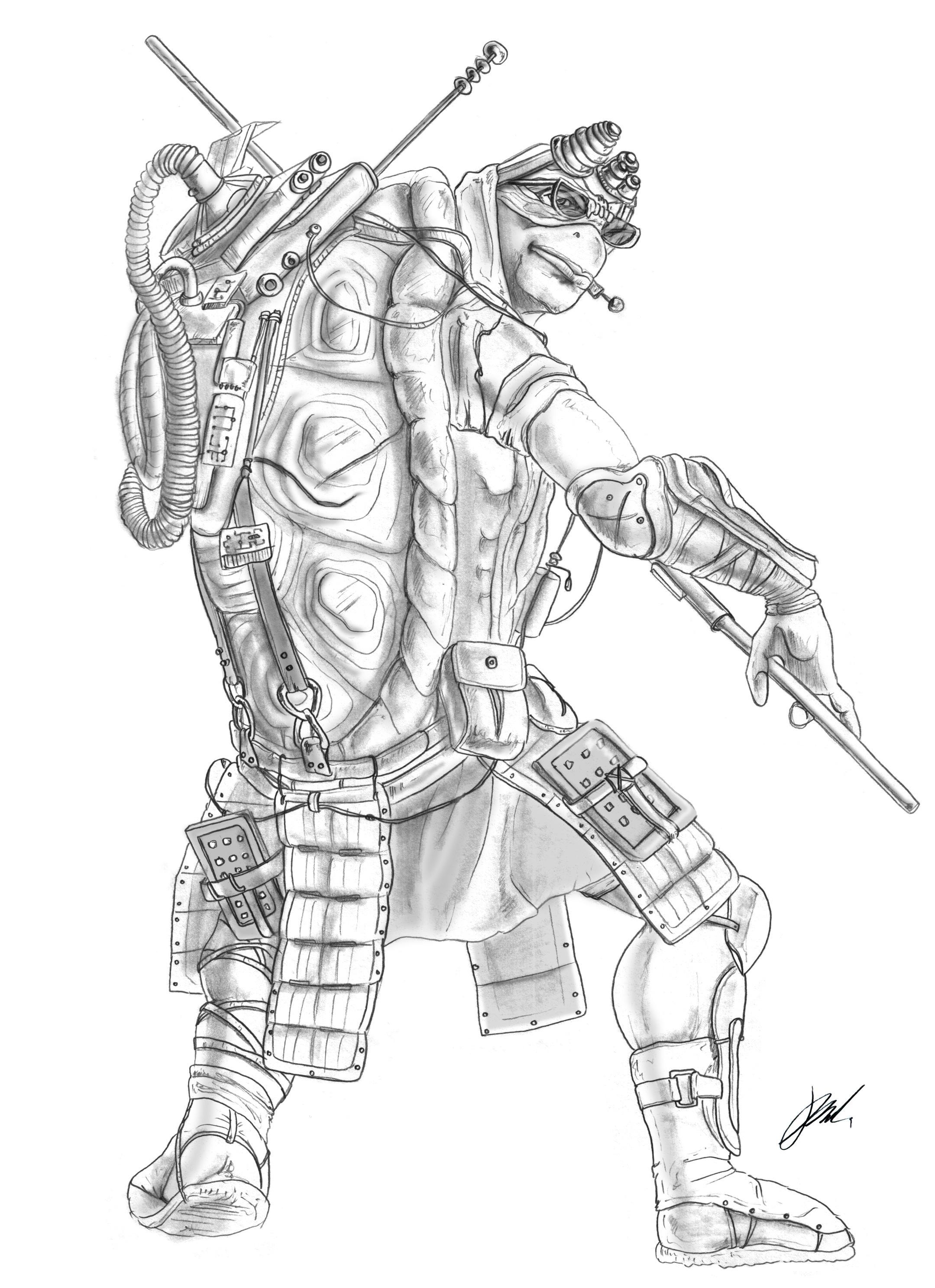 2159x2975 Drawing Photos Of Teenage Mutant Ninja Turtle Teenage Mutant Ninja