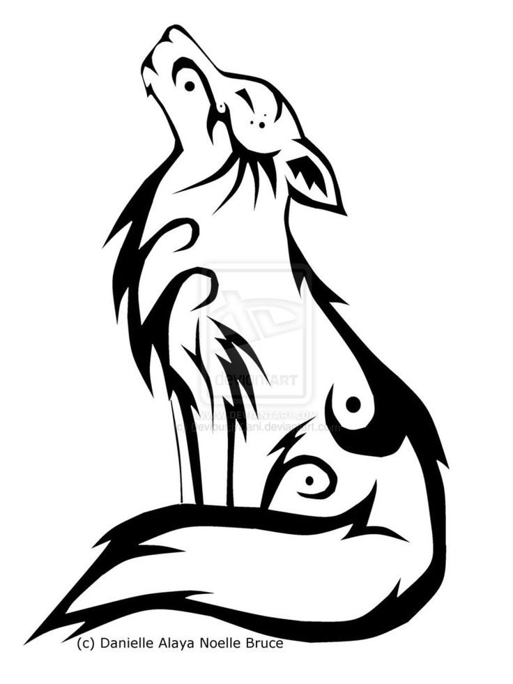 736x981 Tribal Wolf Coloring Tribal Wolf Coloring Page
