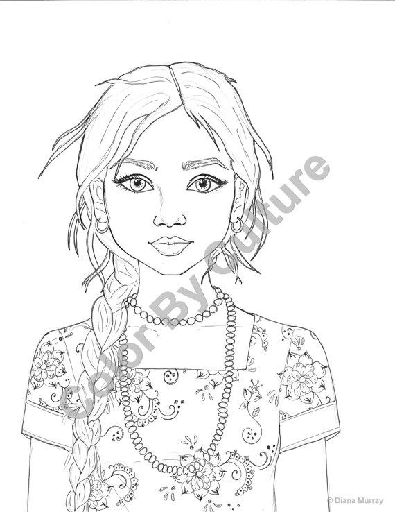 Realistic Woman Drawing at GetDrawings | Free download