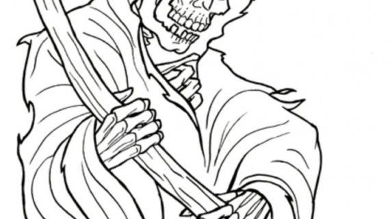 570x320 Grim Reaper Drawing Grim Reaper Realistic Drawing Drawing Images