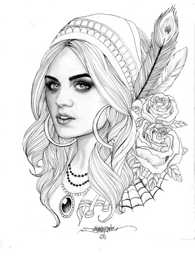 383x512 I Like The Black White More Realistic Designs Draiwing