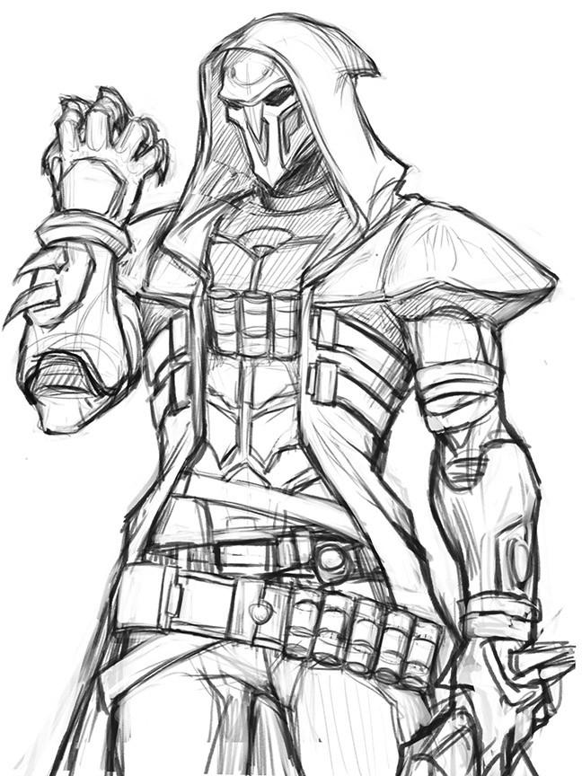 Reaper Drawing