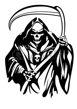 318x450 Grim Reaper Stock Photos. Royalty Free Business Images