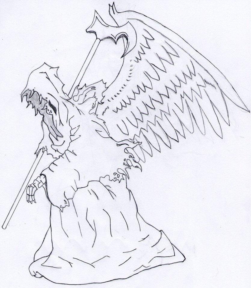 835x956 Grim Reaper By K91616